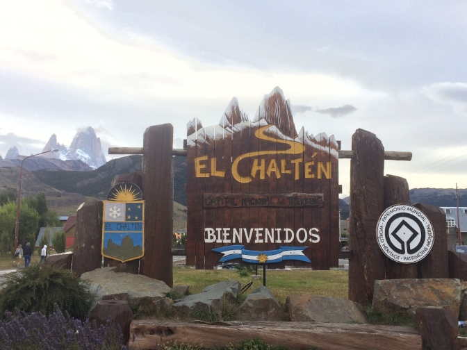 El Chaltén capital nationale du trekking