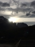 Coucher de soleil sur les Torres