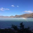 Le vent Patagonien et le lac