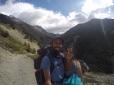 La vallée en direction des Torres