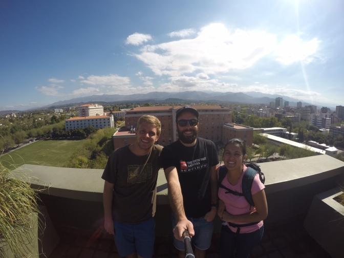 Football y bodega bienvenido en Mendoza