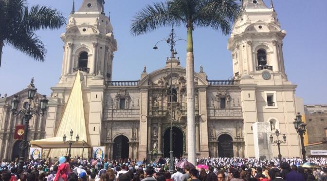 Lima, nos premiers pas au Pérou