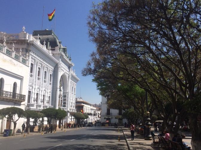 Sucre, une ville carte postale